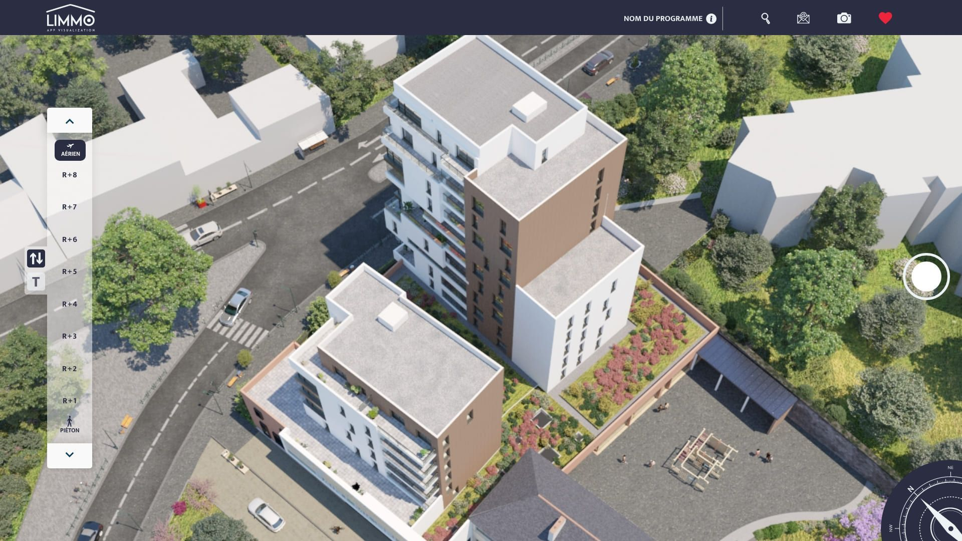 Limmo Application visualisation Immobiliere
